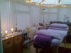 Reiki Treatment Room Decor