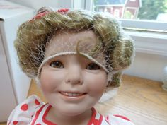 "Another New Addition, Shirley Temple ""Stand up and cheer"" Susan Wakeen/Danbury Mint Porcelain Doll"