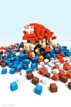De-Constructed Mario