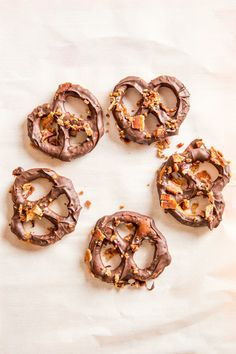 Bacon-Dusted Chocolate-Covered Pretzels