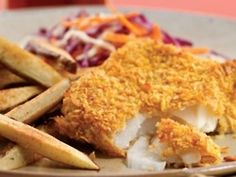 oven baked fish (tilapia)