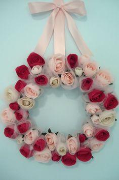 Valentine wreath.