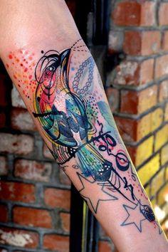 Artist: Petra Hlaváčková Location: Bobek Tattoo, Prague, Czech Republic