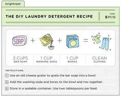 DIY laundry detergent recipe | HellaWella