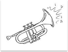 Instruments orchestra on pinterest instruments for Orchestra coloring pages