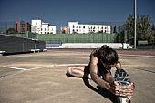 athletic urban girl. love it.