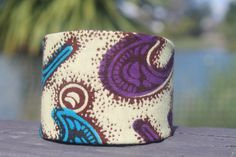 Ankara Fabric Covered Bangle by ImoseBoutique on Etsy, $10.00