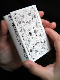 Business cards holder by Studio E-posh #eposh #mykees #lace