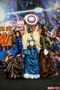 Marvel's Costume Contest NYCC 2014. Thanks to Marvel Contest of Champions from Kabam