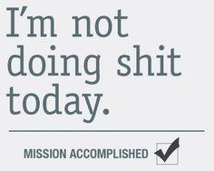Mission Accomplished indeed!