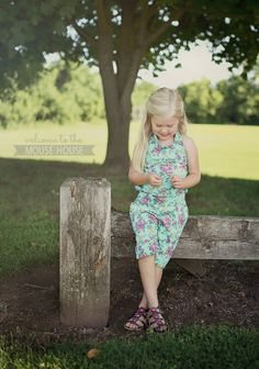 The Ash Jumpsuit: Willow and Co and Girl Charlee - welcometothemousehouse.com