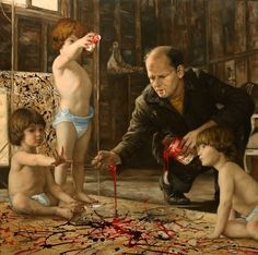 Cesar Santos nos da su propia visión de pinturas clásicas - Antidepresivo