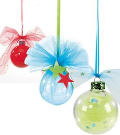 #12Pins project: Tulle Ornaments #winter
