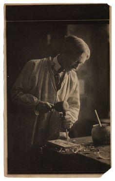 Charles Prendergast ca. 1910-1913 at Williams College Museum of Art.