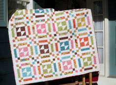 Quilt Pattern - Butterfly Fancys EASY Layer Cake Quilt PaTTerN - Throw Size. $9.00, via Etsy.