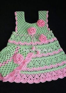 Croche pro Drink: Little dresses found on the net, pure inspiration ....
