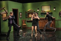 Conan Has Bar-Brawl With Nina Dobrev And Her Stuntman Friends