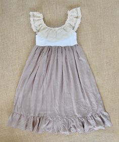 This Brown Spring Bliss Maxi Dress - Infant, Toddler & Girls by Sado is perfect! #zulilyfinds