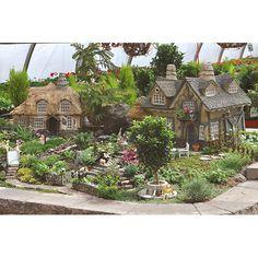Cottage miniatures #garden, miniatures