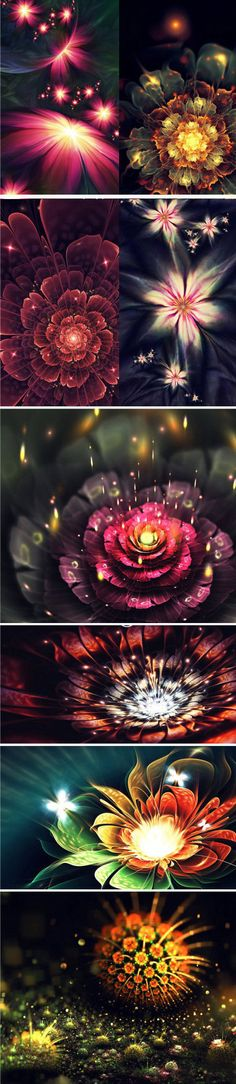 Beautiful 3D Apophysis Flames By Chiara