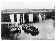 Maribyrnong Bridge c.1907 by mvlslibrary, via Flickr