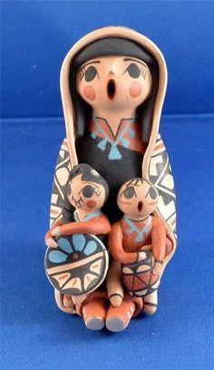 Native American Jemez Pueblo Indian Pottery Storyteller Virginia Lucero | eBay. $144.99 plus $8.00 Shipping.