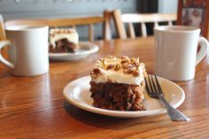 The rich and flavorful taste of Cracker Barrel Carrot Cake comes from being baked in house, glazed and covered with sweet cream cheese icing and pecans.