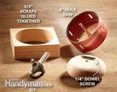 DIY furniture trick: Bun feet