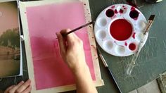 HOW TO MAKE YOUR OWN PAINT with BEETS by Mr. Otter Art Studio