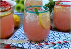 mint lemonad, raspberri mint