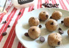 No Bake Cookie Dough Balls