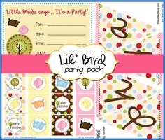 Lil' Bird Party Pack