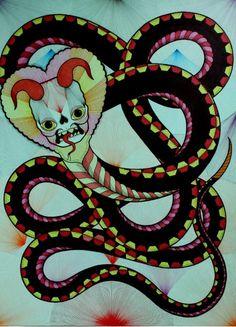 LOOK: Artist David Cook AKA Bonethrower