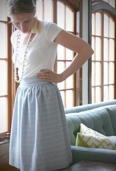 DIY skirt..need to make this.