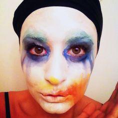 "Halloween Costume: Lady Gaga's ""Applause"" Makeup Tutorial"