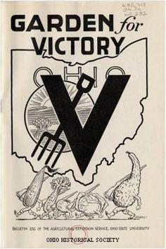 Garden for victory. Ohio.