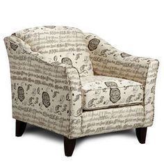 Adorable accent chair!