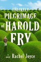 Unlikely Pilgrimage of Harold Fry by Rachel Joyce Harold Fry is convinced that he must deliver a letter to an old love in order to save her, meeting various characters along the way and reminiscing about the events of his past and people he has known, as he tries to find peace and acceptance.