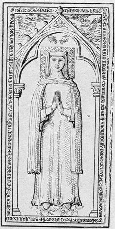 Fillet and a rolled veil; Marie de Bourbon (1274, France)