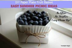 2 Simple Summer Presentation Ideas Using 2 Basic Paper Plates