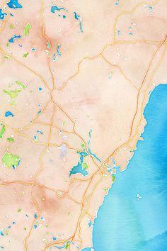 watercolor 1,000 x 1,500px 43.2106, -70.8538