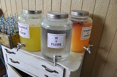 IV fluid!