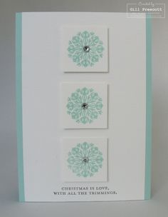 Stampin' Up! - Charming stamp set - Christmas