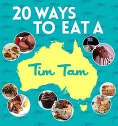 20 Ways To Eat A Tim Tam