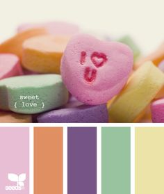 sweet love design seeds hues tones shades  color palette, color inspiration cards #hues #tones #shades #colorpalette #colorinspiration #designseeds