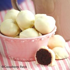 Red Velvet Cake Balls from 101 Hearty Recipes Cookbook