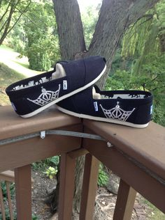 Miss America Crown Toms -Swarovski- including shoes - READ DESCRIPTION