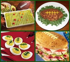 football food! The husband would love these!!