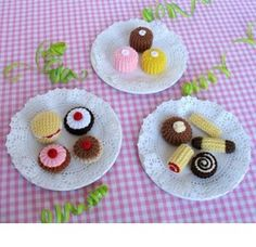 Biscuits and Cakes free pattern