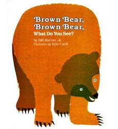 (10) BOOK: Brown Bear, Brown Bear, What Do You See? - another must have for baby/kid libraries!  #WorldEricCarle #HungryCaterpillar